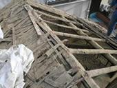 福岡市 屋根リフォーム(張り替え)施工例 施工中