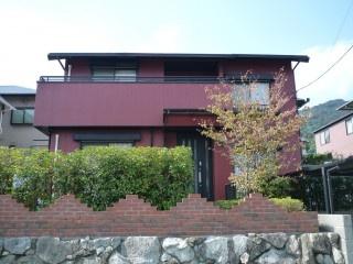 福岡市西区生松台 外壁・屋根塗装工事施工例 施工後