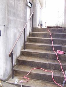 糸島市志摩町 手すり取付工事施工例 施工後