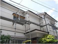 福岡市 外壁タイルリフォーム施工例 施工後