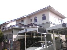 福岡市西区愛宕浜 外壁・屋根塗装工事施工例 施工後