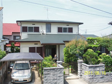 福岡市西区今宿上の原 外壁・屋根塗装工事施工例 施工後