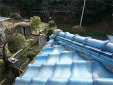 福岡市早良区祖原 屋根リフォーム(張り替え)施工例 施工前
