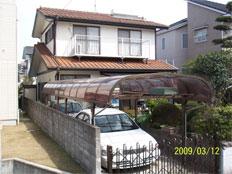 福岡市西区豊浜 屋根リフォーム(張り替え)施工例 施工前