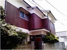 福岡市 外壁タイルリフォーム施工例 施工前