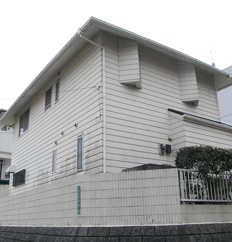 福岡市 外壁塗装工事施工例 施工前
