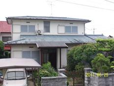 福岡市西区今宿上の原 外壁・屋根塗装工事施工例 施工前