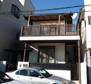 福岡市早良区高取 外壁タイルリフォーム施工例 施工前