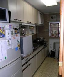 福岡市 キッチンリフォーム施工例 施工前