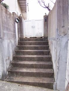 糸島市志摩町 手すり取付工事施工例 施工前