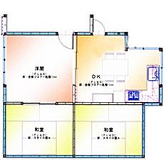 福岡市 キッチンリフォーム施工例 施工後図面