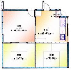 福岡市 キッチンリフォーム施工例 施工前図面